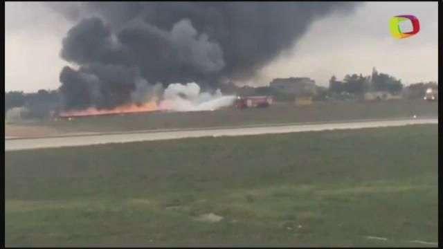 Al menos 5 personas murieron al estrellarse avioneta en Malta