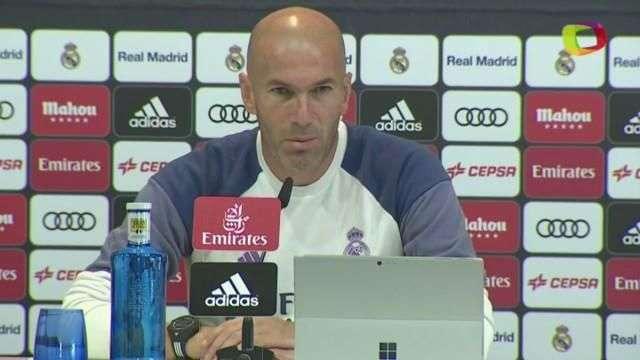 Zidane saca la cara por Cristiano