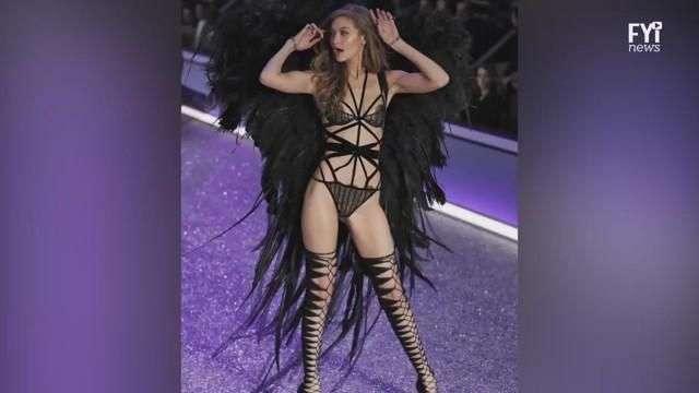 Los ángeles de Victoria´s Secret brillaron en Paris