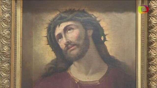 Reaparece el cuadro original del Eccehomo de Borja y sale a la venta
