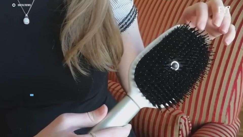 Un cepillo inteligente que te dirá qué producto debes usar para tu cabello