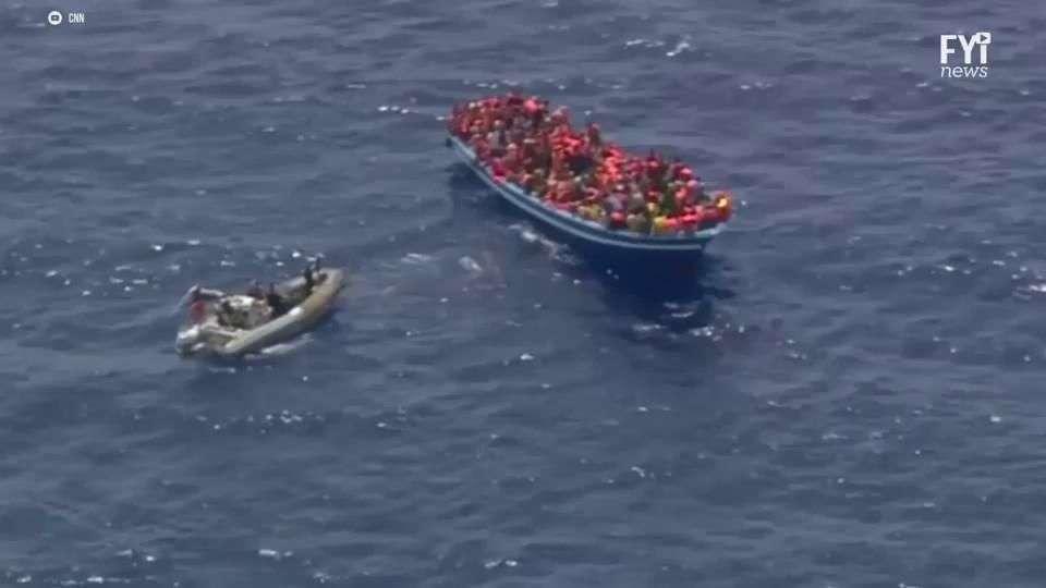 Como el Mar Mediterráneo se convirtió en  aguas de muerte para los refugiados