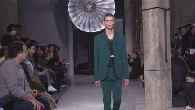 Lanvin y Kenzo cierran la semana de la moda de hombre de París