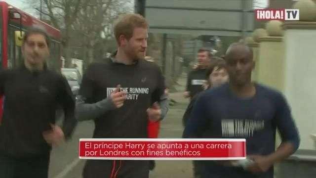 Harry de Inglaterra: Corriendo por Londres por fines benéficos | Mundo HOLA