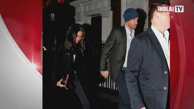 La primera foto del Príncipe Harry y Meghan Markle juntos | Mundo HOLA