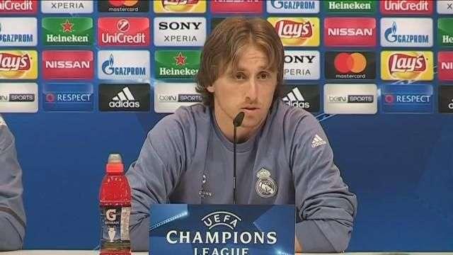 "Modric: ""Gracias a Dios Maradona no juega"""