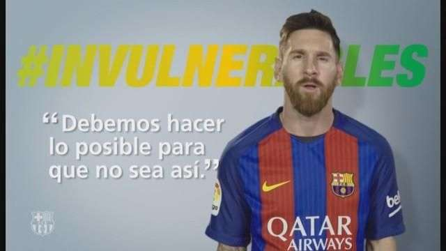 Messi colabora con el programa #Invulnerables contra la pobreza infantil