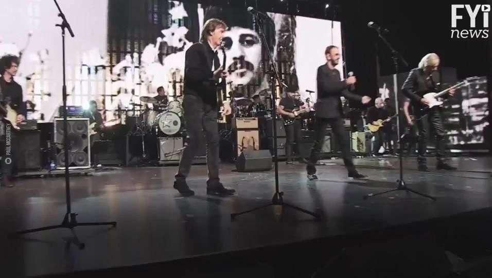 ¡Ringo y McCartney están de vuelta!