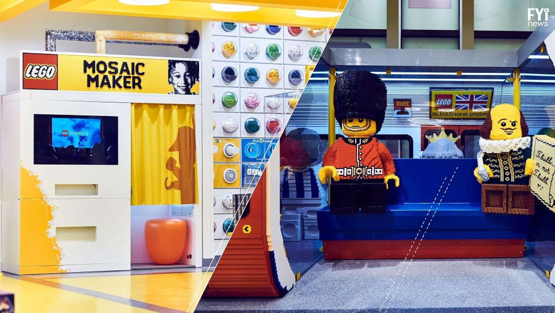 Arma tu propio selfie con piezas de LEGO
