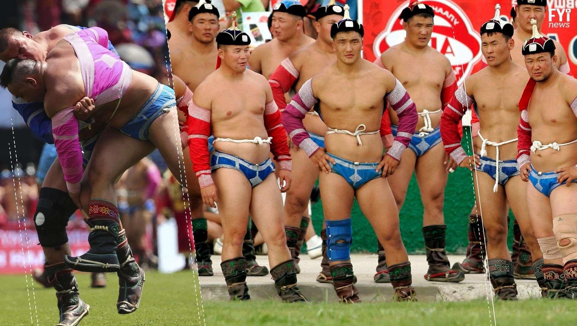 El peculiar deporte que mueve masas en Mongolia