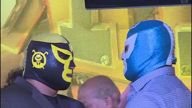 Los Ingobernables golpean a Diamante Azul durante conferencia