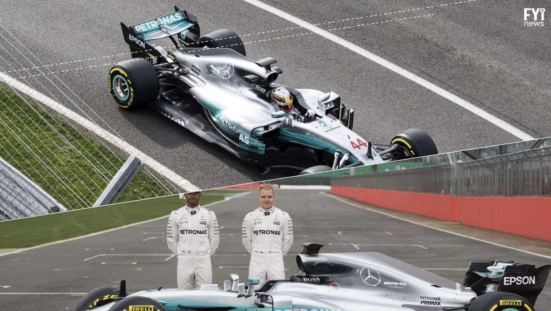 Mercedes apuesta a su nuevo carro para ganar el campeonato
