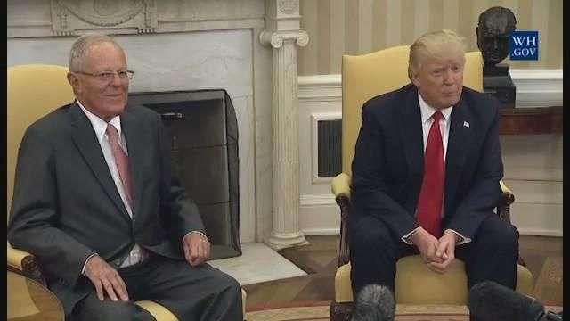 """Trump dice que tiene un """"gran problema"""" con Venezuela"""