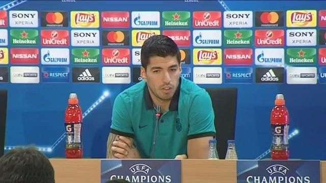 """Luis Suárez: """"El partido dura 95 minutos; hay que ser pacientes"""""""