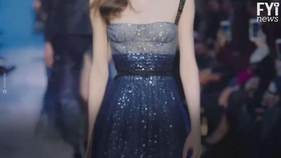Azul marino, la nueva obsesión de Dior