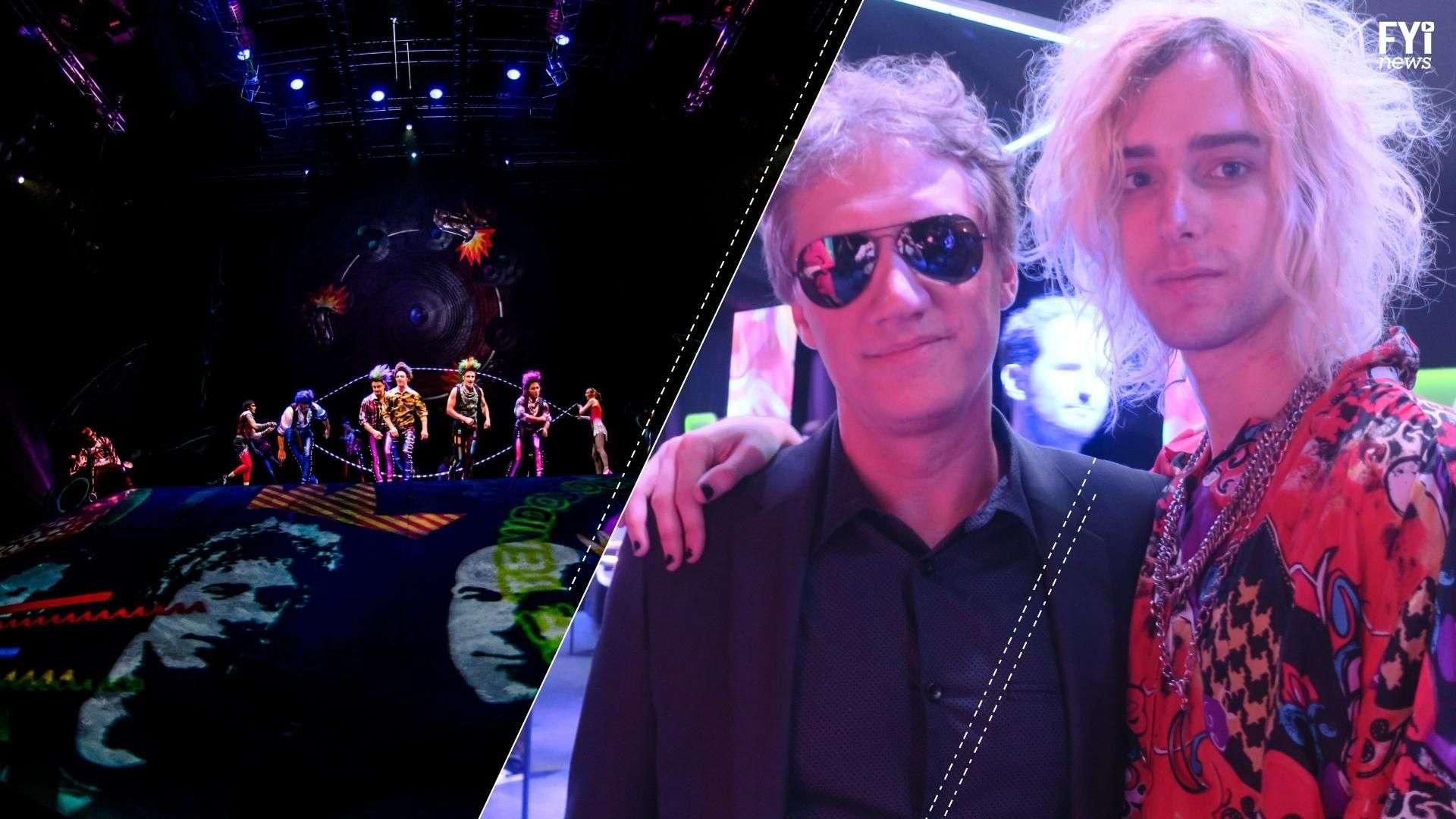 Soda Stereo reaparece en El Cirque du Soleil