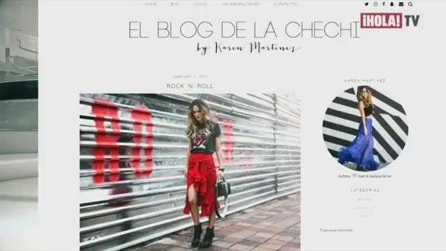 La historia detrás del blog de moda de Karen Martínez