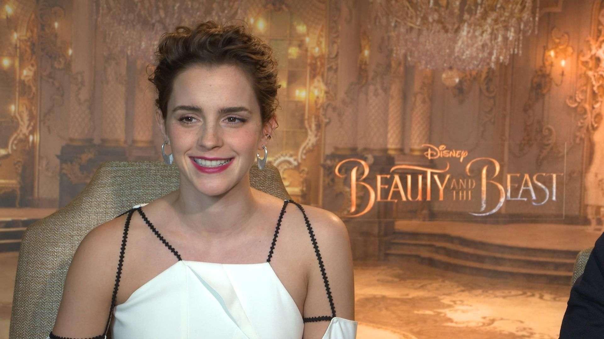 Emma Watson revela su escena favorita en 'Beauty and The Beast' (VIDEO)