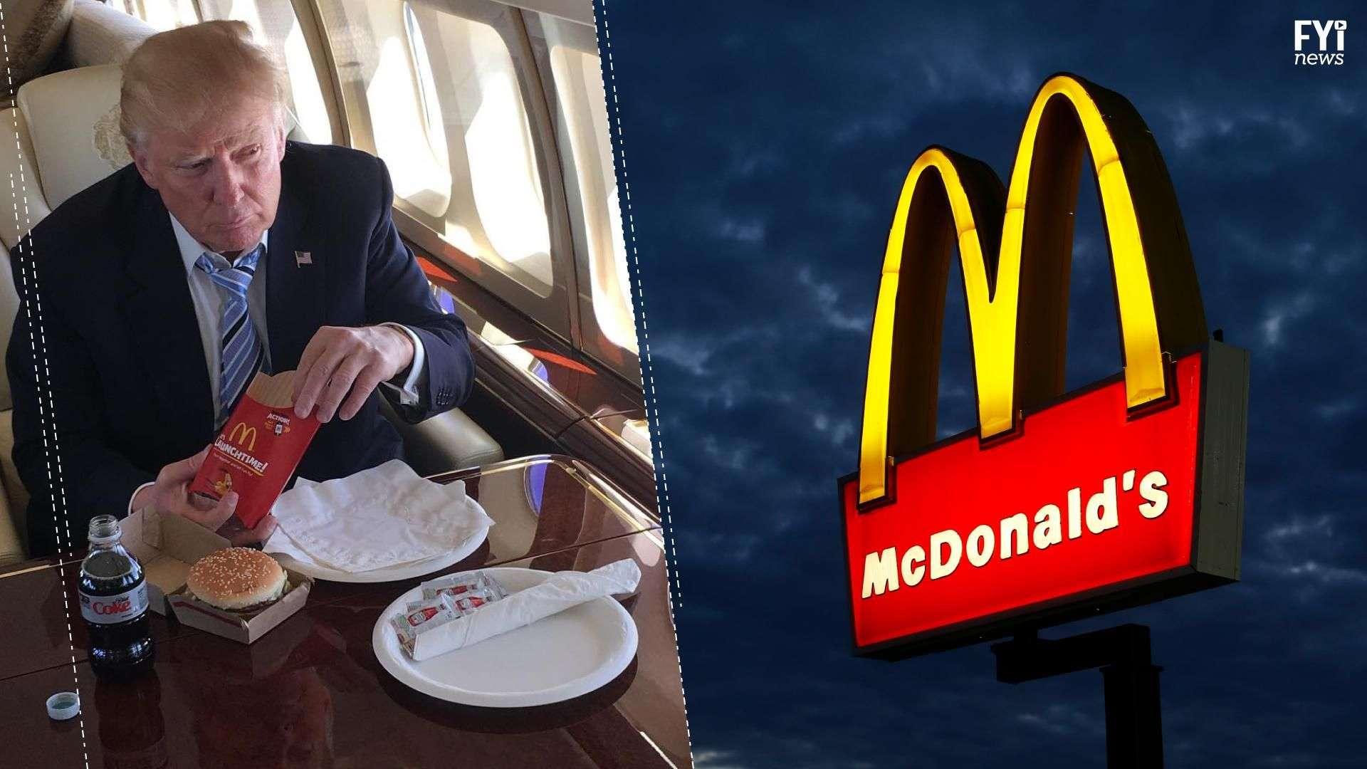 McDonalds insultó a Trump a través de su cuenta de Twitter