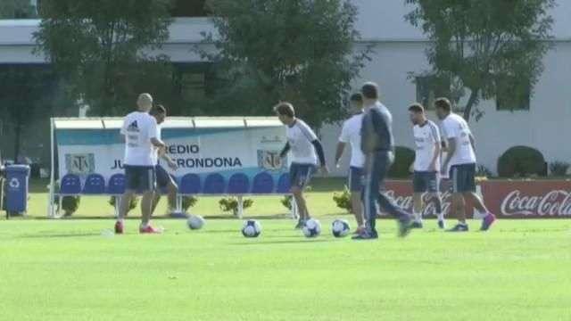 Messi ya se prepara para enfrentar a Chile por eliminatorias