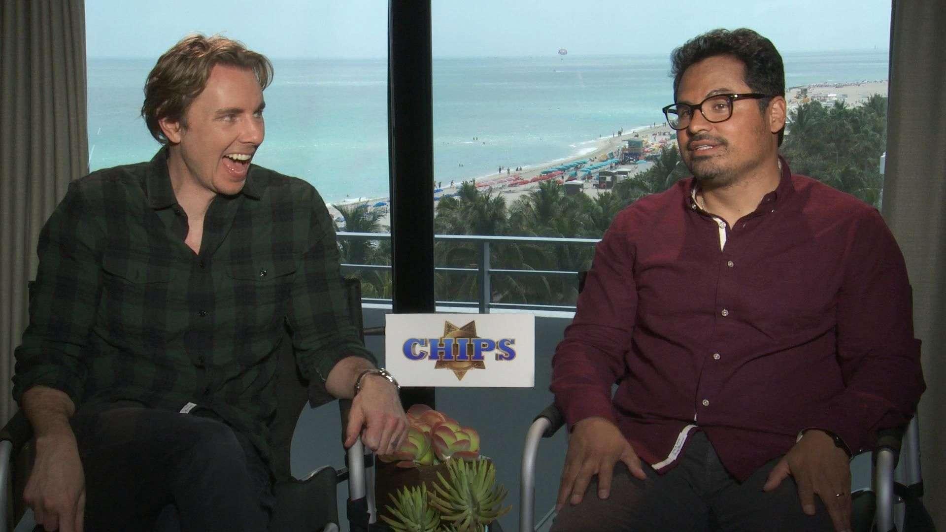 Dax Shepard y Michael Peña son los nuevos 'CHIPS' (VIDEO)