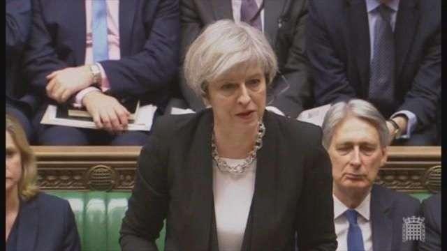 May asegura que el Reino Unido no tiene miedo ante el terrorismo