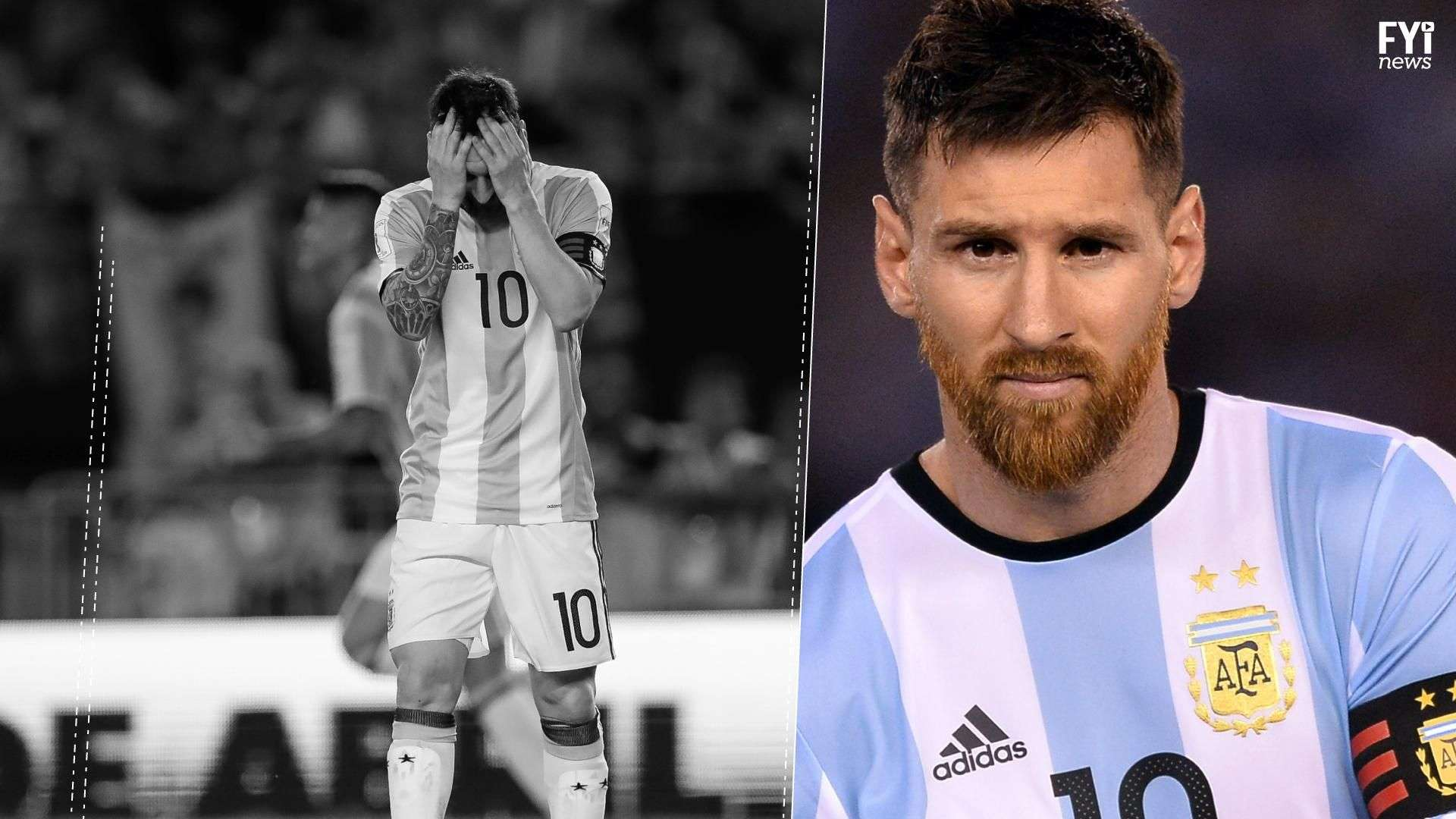 Rebeldía de Messi sale cara