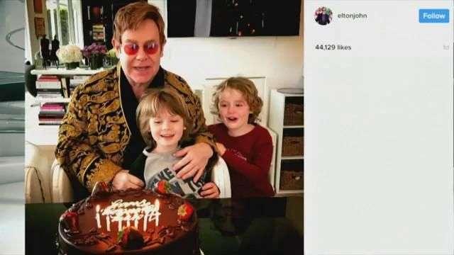 El cumpleaños Nº 70 de Elton John: ¡un verdadero encuentro de celebridades!