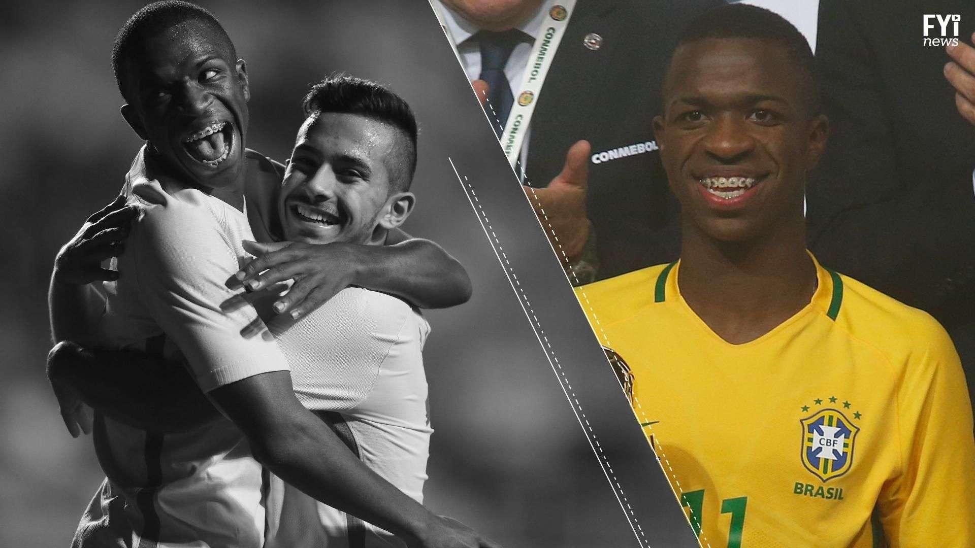 Vinícius es la nueva perla brasilera del fútbol