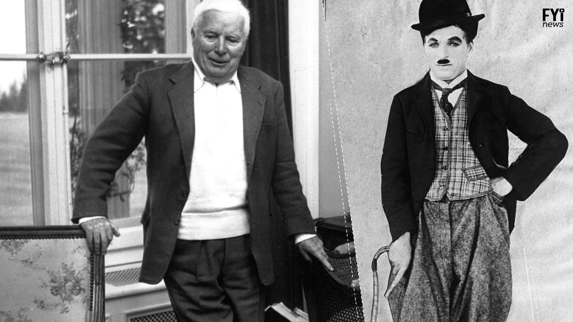 Charles Chaplin, el artistas que triunfó con  sus fracasos