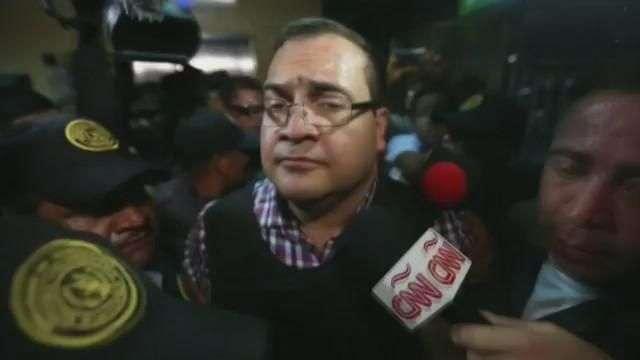 Duarte asiste a tribunales en Guatemala con miras a su extradición