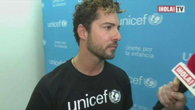 David Bisbal se suma a UNICEF como su más reciente embajador