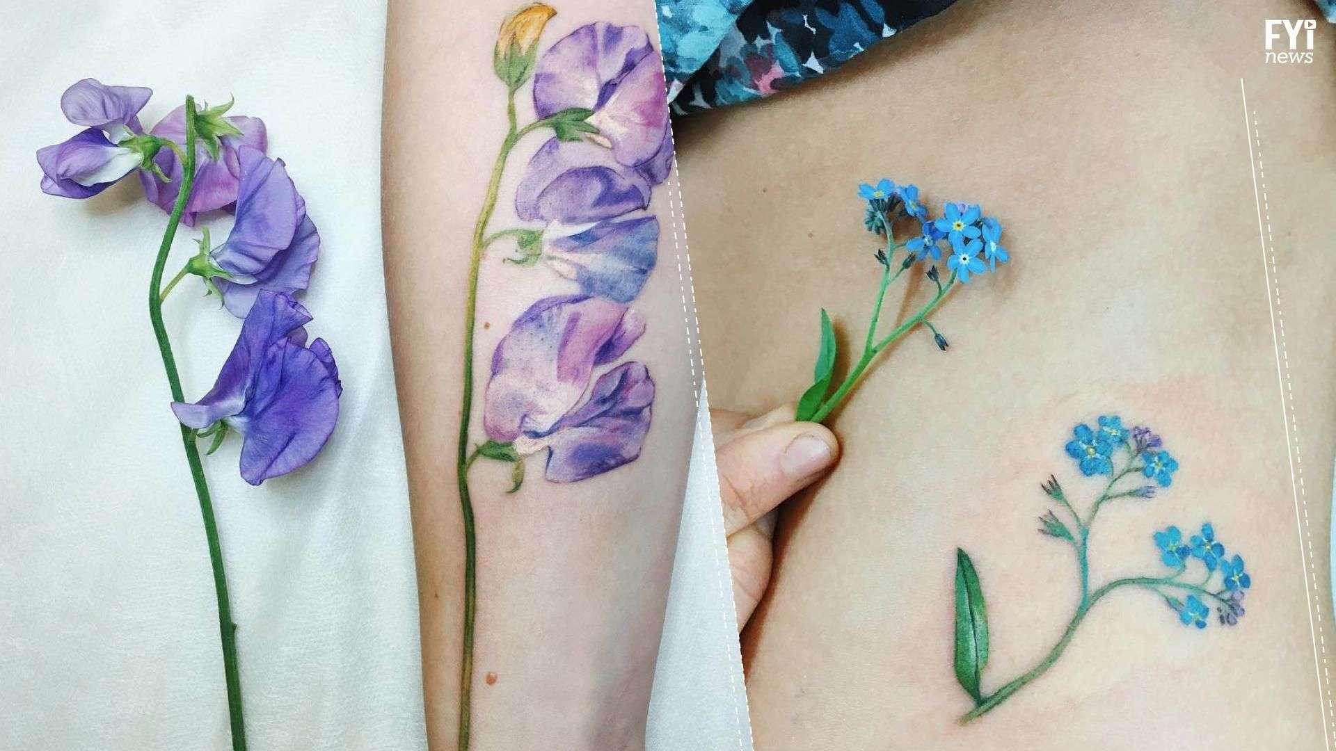 Tatuajes a flor de piel