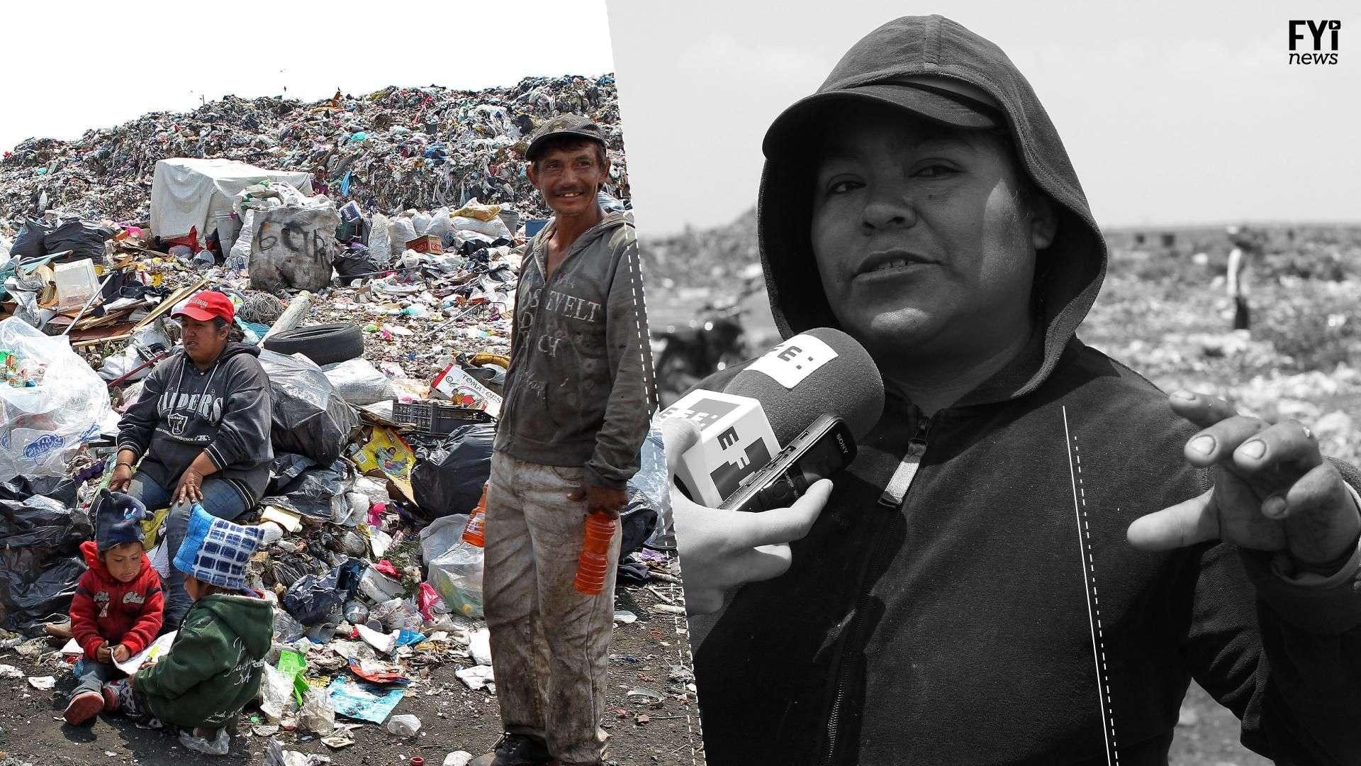 Cuando la basura es la única opción de trabajo