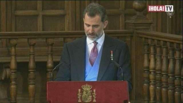 Los reyes de España presidieron la entrega del Premio Cervantes a Eduardo Mendoza