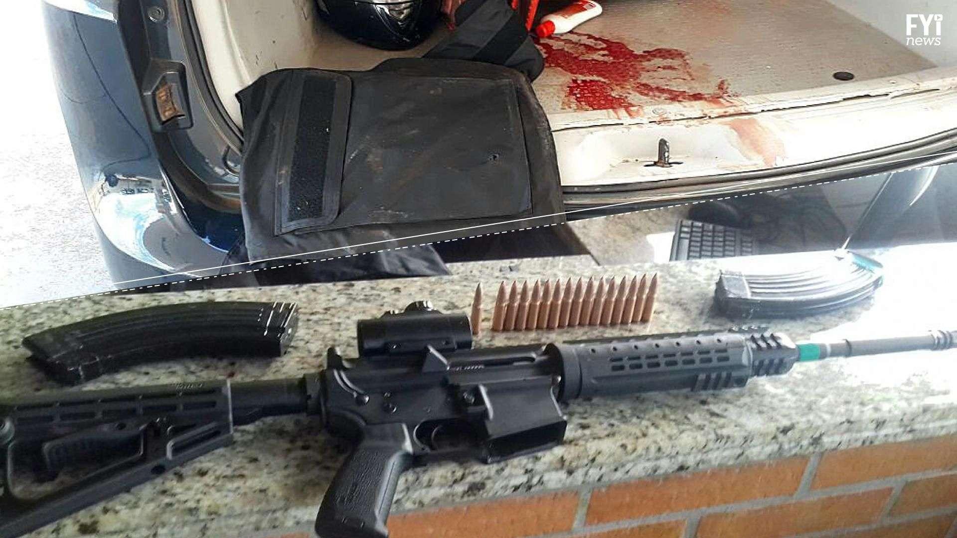 Persecución y tiroteo en Brasil por un mega robo en Paraguay