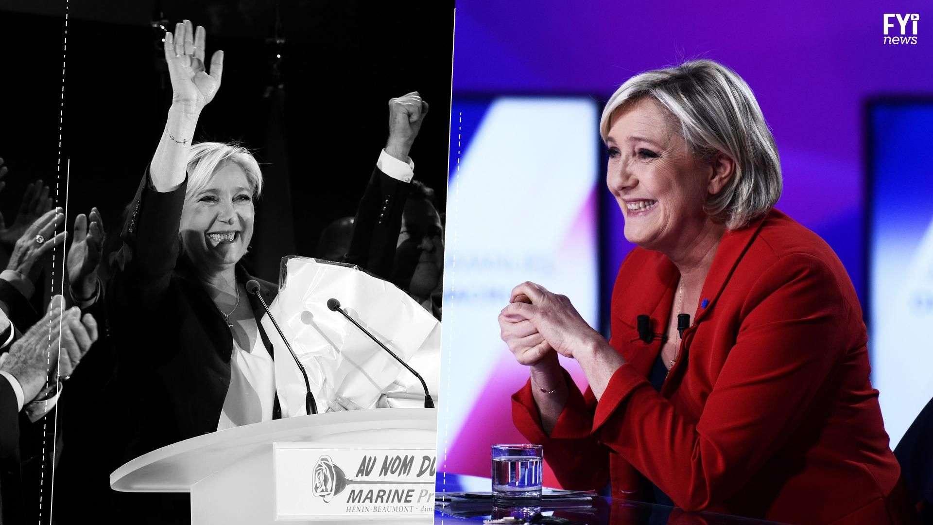 Le Pen se separa de su partido