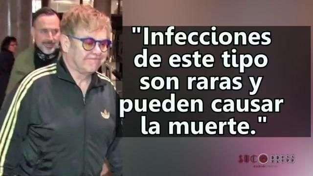 Elton John se recupera de una mortal infección