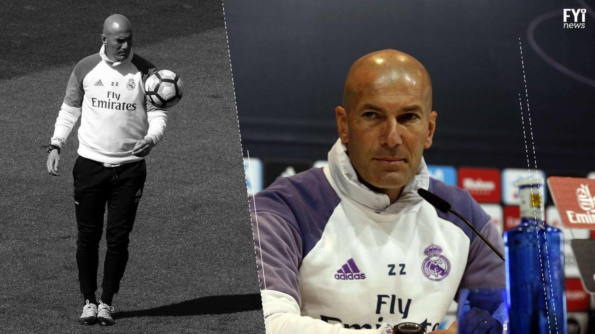 Zidane, la cabeza detrás de las estrategias