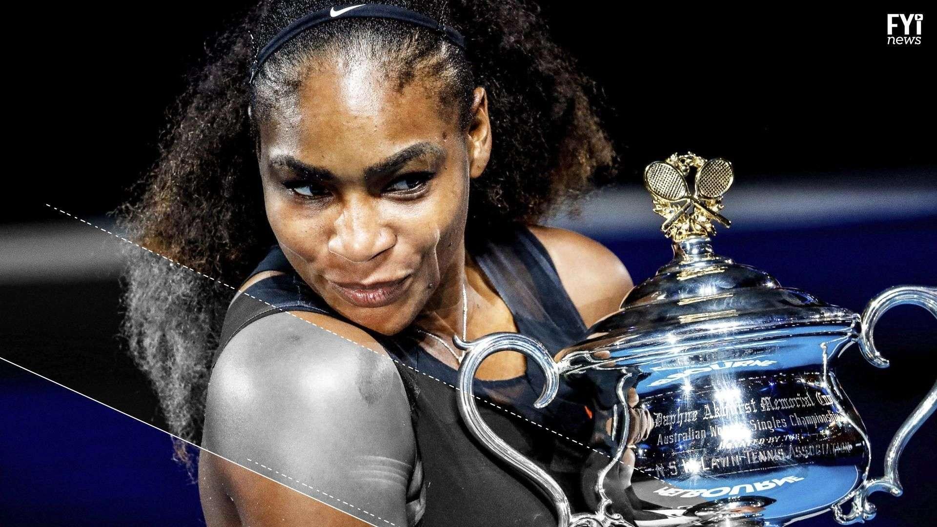 Serena Williams ganó el Australian Open estando embarazada, what??