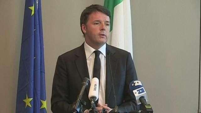 """Renzi, del lado de Macron en las elecciones de Francia y de una estrategia frente al """"brexit"""""""