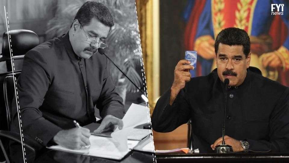 Maduro quiere cambiar la Constitución que Chávez propuso