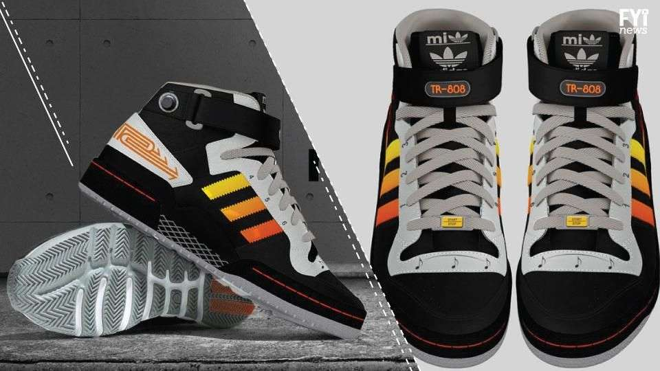 Adidas Roland TR-808, los zapatos para crear música