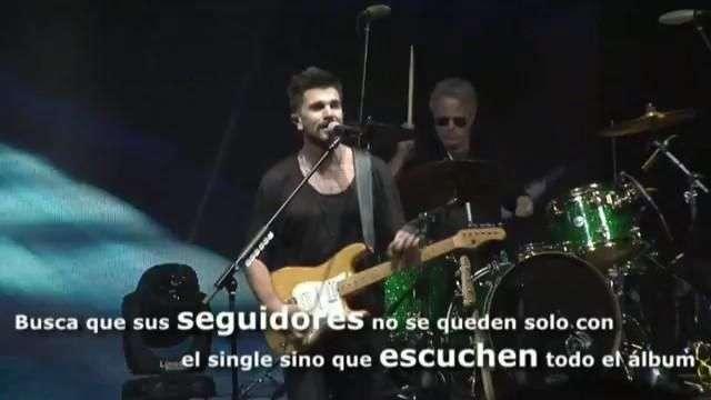 """Juanes regresa por la puerta grande con """"Mis planes son amarte"""""""