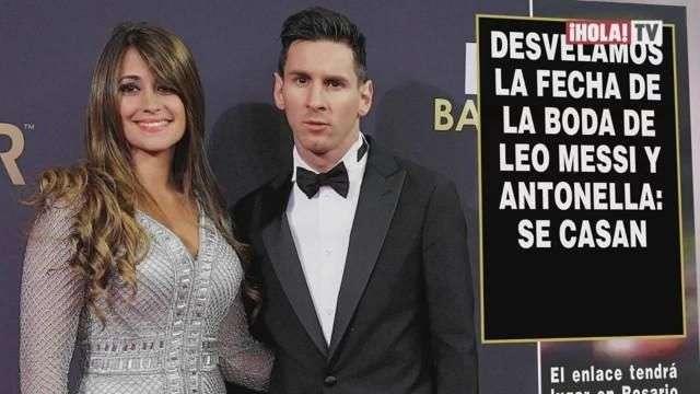 Se anuncia la fecha de la boda de Leo Messi y Antonella Roccuzzo