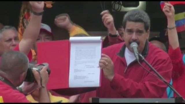 Poder Electoral de Venezuela aprueba elección de Constituyente para julio
