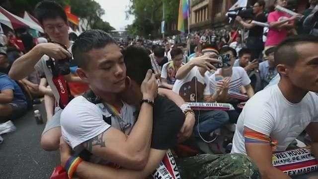 Taiwán, pionero en Asia en legalizar el matrimonio homosexual