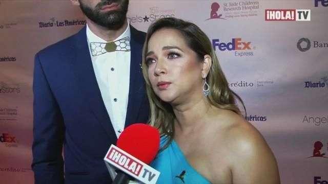 Adamari López habla de su experiencia como sobreviviente del cáncer en la gala del St. Jude