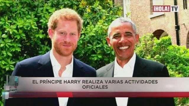El Príncipe Harry y Obama conversaron sobre el ataque en Manchester