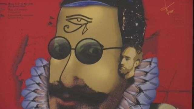 Iberoamérica le pone rostro a Cervantes sobre piedra, madera y lienzo